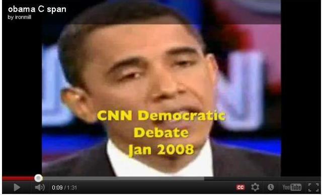 Obama promete no negociar a puerta cerrada además de transmitirlo por Tv.