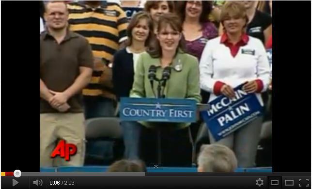 Palin denuncia la relacion de Obama con conocidos terroristas (VIDEO)