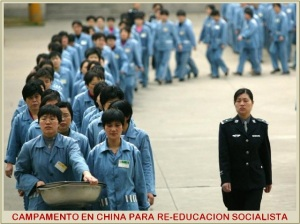 CHINA-REEDUCACION-SOCIALISTA