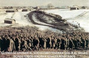 GULAG-SOCIALISMO-MISMO RESULTADO