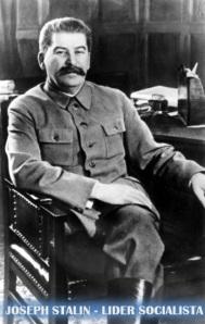 JOSEPH STALIN - LIDER SOCIALISTA