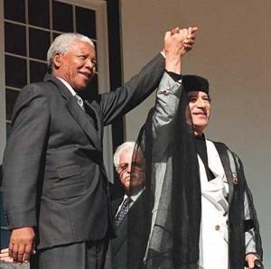 Mandela-Gadafi