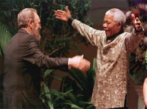 Mandela-Castro Fidel