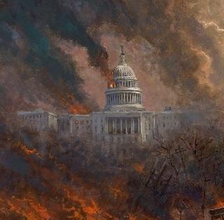 Densa Nube Sobre America - Jon McNaughton