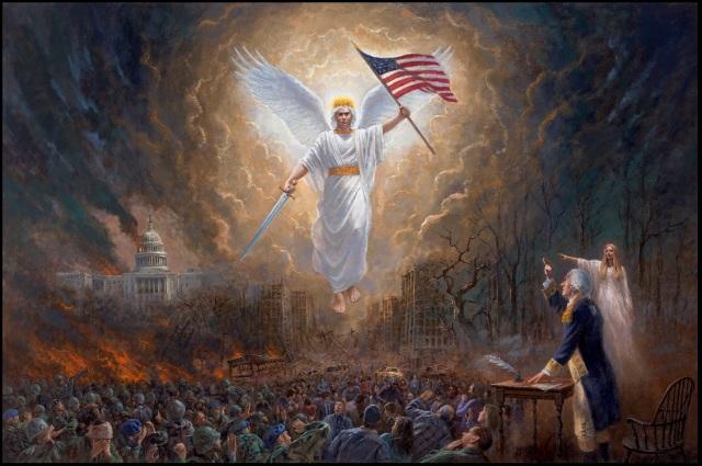 El Ángel de la Libertad -  Jon McNaughton